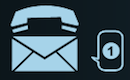 voice mail services icon